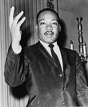 Portrait of Martin Luther King (click to view image source)