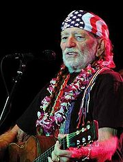 Portrait of Willie Nelson (click to view image source)