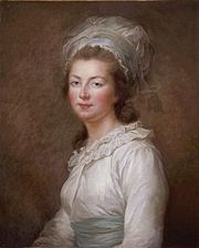 Portrait of Princess of France Elisabeth (click to view image source)
