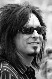 Portrait of Nikki Sixx (click to view image source)