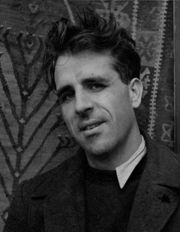 Portrait of Mervyn Peake (click to view image source)